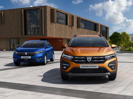 Dacia Sandero Streetway e Stepway in anteprima esclusiva da Renault Paglini