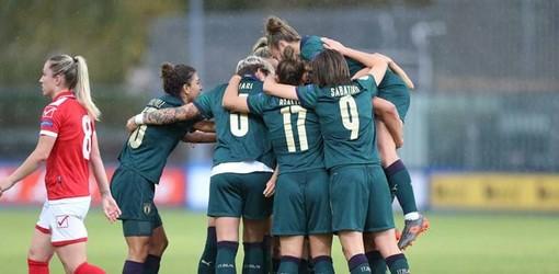 L'Italia femminile ha centrato un'altra importante vittoria (figc.it)