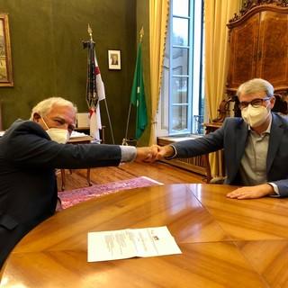 Il neopresidente dell'Anpi Varese Rocco Cordì da Galimberti: «Massima attenzione ai valori dell'antifascismo»