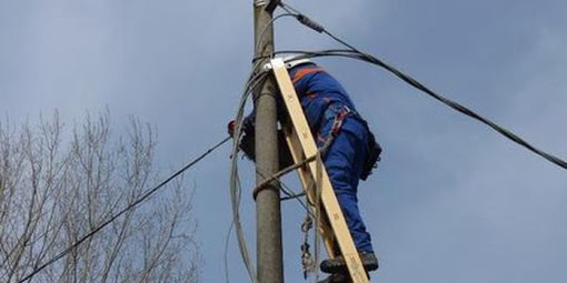 Maltempo a Induno Olona, alcune zone del paese senza corrente elettrica