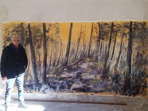 """Remo Castiglioni, di Busto, un """"artista per la ripartenza"""""""