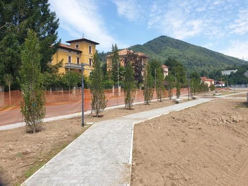 Ripartiti a Induno Olona i lavori al parco della stazione