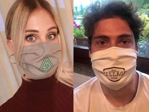 Italtende ha donato mascherine alle forze dell'ordine, ai volontari della Protezione Civile e anche ai dipendenti dei supermercati; ora tanti amici e clienti hanno richiesto i loro dispositivi di protezione personalizzati