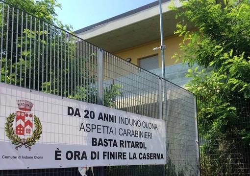 Nuova caserma dei carabinieri a Induno: il sindaco resta scettico