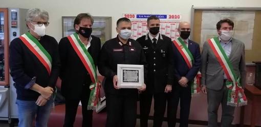 Foto tratta dalla pagina Facebook del sindaco di Jerago Emilio Aliverti