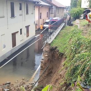 Il sindaco di Jerago e la domenica «folle» del maltempo: «In 15 minuti scesi 378 mm di acqua»