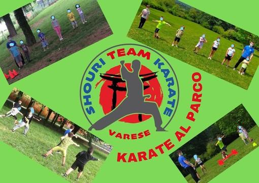 Il karate riparte dai parchi all'aperto