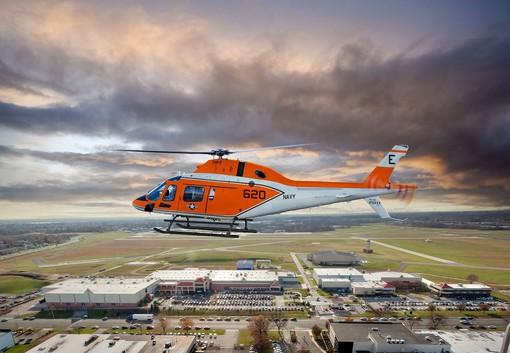 Leonardo consegna il primo dei 130 elicotteri previsti alla U.S. Navy