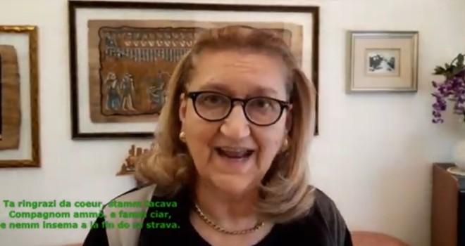 """Lidia Munaretti recita """"Tra mi e ti"""" di Nino Cimasoni"""