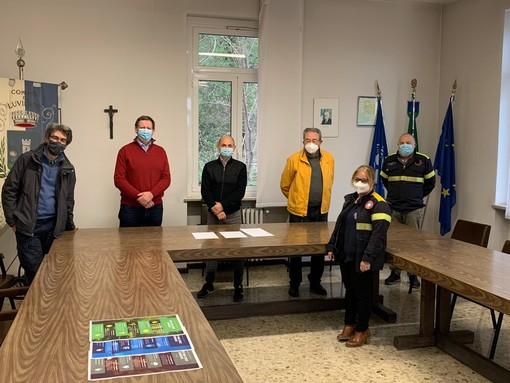 """La cura dei boschi di Luvinate fa """"scuola"""" in Veneto"""