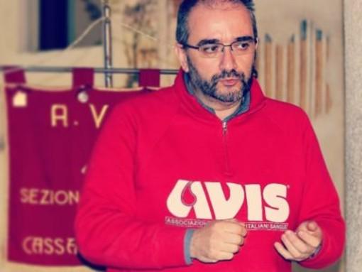 Luca Basile, recentemente eletto alla guida di Avis Provincia di Varese (foto dal sito Avis provinciale)