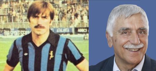 Lele Andena ieri (1978 in maglia Atalanta) e oggi: i baffi sono un tratto distintivo, nato per una scommessa in maglia biancorossa