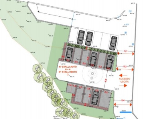 In arrivo a Luvinate dieci nuovi parcheggi in via Rancio