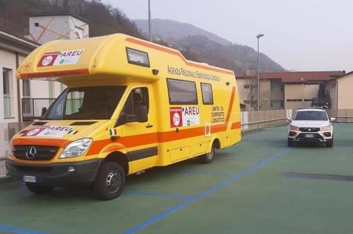 A Lavena Ponte Tresa arriva un camper mobile per le vaccinazioni anti Covid