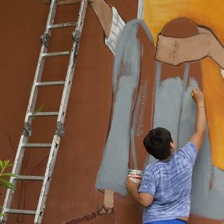 Muri Artistici Diffusi a Lavena Ponte Tresa, lunedì il primo appuntamento alla scuola Manzoni