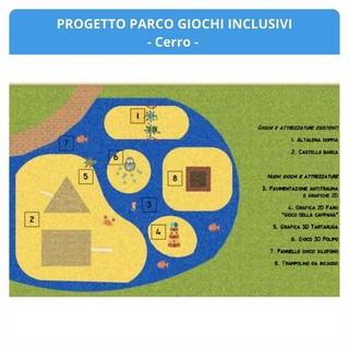 Sabato l'inaugurazione del nuovo parco giochi inclusivo di Cerro a Laveno