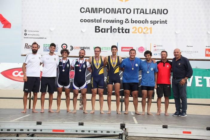 Canottaggio, Luino due volte tricolore a Barletta con i fratelli Lissoni