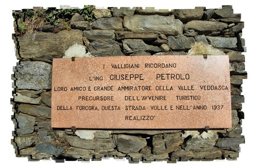 Maccagno: torna a splendere in Val Veddasca la targa dedicata a Giuseppe Petrolo