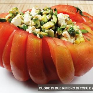 MercoledìVeg di Ortofruit: oggi prepariamo cuore di bue ripieno di tofu e zucchini