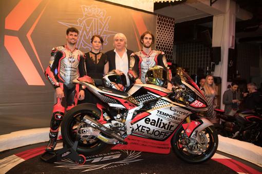 La presentazione del Team MV Agusta Forward Racing (foto e galleria a cura di Fabio Averna)
