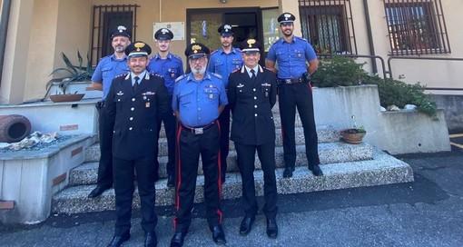 """Un vero carabiniere, sempre vicino alla gente: Laveno saluta il """"suo"""" brigadiere Mingolla"""