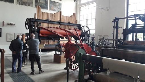 Gli ambienti del Museo del Tessile, caposaldo dell'archeologia industriale a Busto