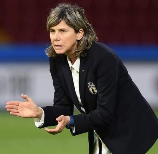 Il ct della nazionale femminile, Milena Bertolini