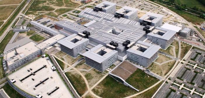 L'ospedale Papa Giovanni XXIII di Bergamo