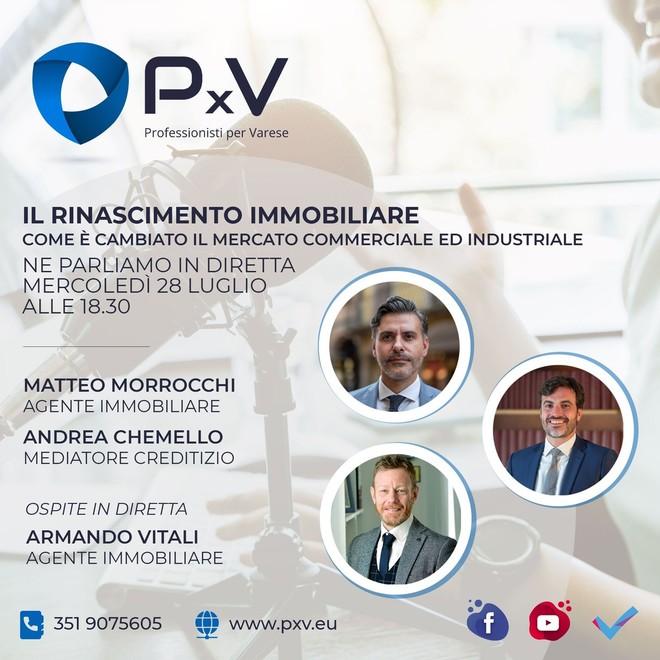 """""""Il Rinascimento immobiliare"""": una nuova era analizzata da tre professionisti di PxV"""