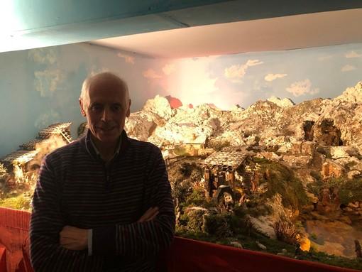 Franco Zanzi e il suo meraviglioso presepe: un'autentica opera d'arte