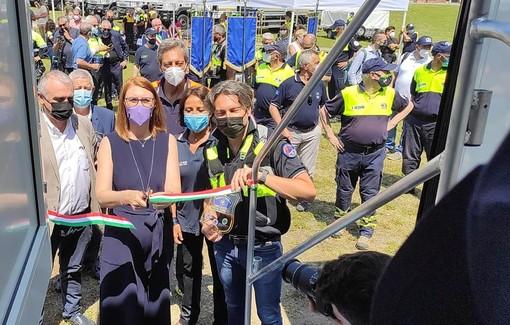 Inaugurati due nuovi mezzi della Protezione Civile del Parco del Ticino