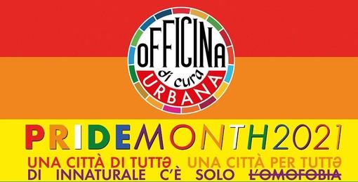 """Gallarate, Officina di Cura Urbana in piazza Libertà per il """"Pride month"""""""