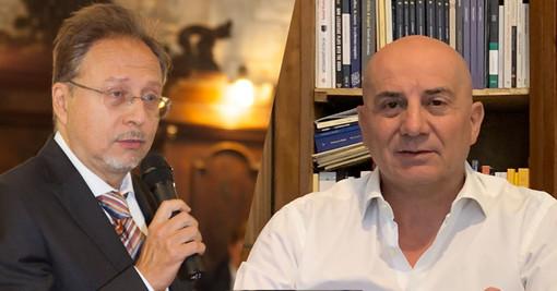 Pierre Dalla Vigna, direttore del master, ed Eugenio De Caro, coordinatore didattico