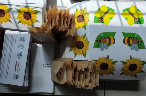Tutelare api e farfalle, i kit didattici del Parco Pineta nelle scuole del territorio