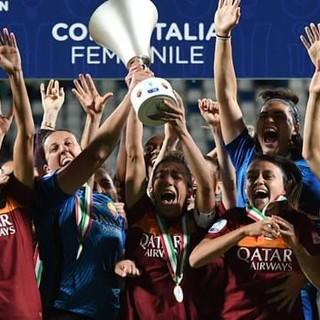 Calcio femminile. La Roma alza la Coppa Italia e chiude la stagione. Ora spazio al mercato e alla Nazionale