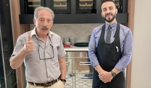 Raffaele e Giulio Generale. Nelle foto sotto: la visita del sindaco Emanuele Antonelli nei giorni dell'apertura di Radici