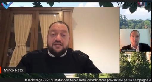 VIDEO. Mirko Reto: «Roberto Maroni c'è e ci sarà. Ai giovani dico: con un po' di noia e stando in casa, vinceremo la guerra al virus»