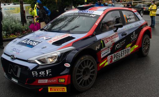 FOTO Rallye Sanremo 2021: podio per un «molto soddisfatto» Crugnola. De Tommaso è 9°: «Un po' sconfortato, ma già pronto a ripartire»