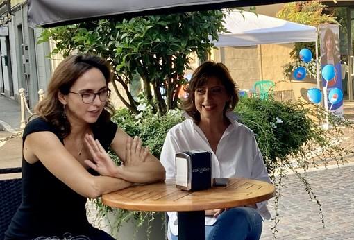 Lia Quartapelle con Margherita Silvestrini
