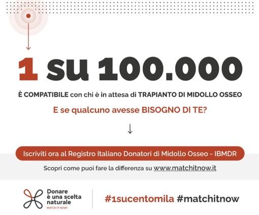 """Torna """"Match it Now"""", la campagna per reclutare nuovi donatori di midollo osseo"""