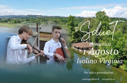 La musica degli SdueT domenica all'Isolino: un tocco di pura magia sul lago