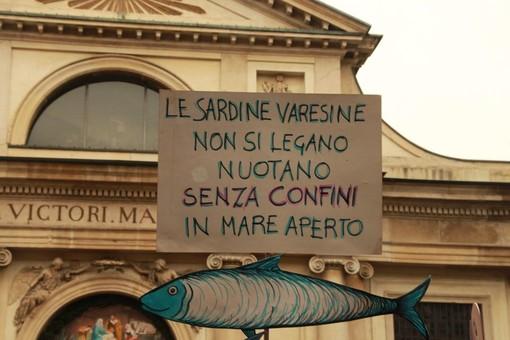 Il Comune di Marchirolo con le Sardine contro odio, razzismo e xenofobia