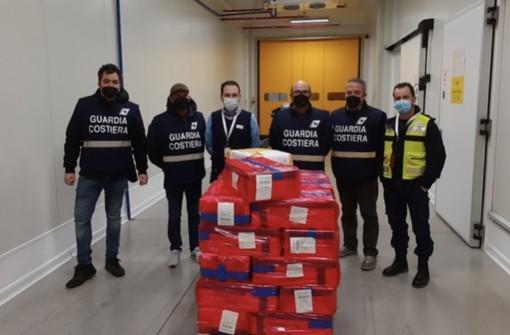 Quasi 400 chili di pesce proveniente dall'Africa , a Malpensa scattano i controlli