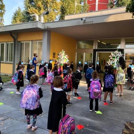 Il benvenuto del sindaco di Solbiate Arno agli alunni di prima elementare: «Date il meglio di voi e siate curiosi»