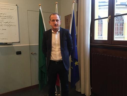 Il sindaco di Busto Emanuele Antonelli