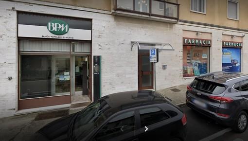La filiale Bpm di Sumirago (foto da Google)