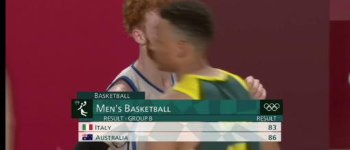 """Italbasket molto bella, ma l'Australia è più """"grossa"""" e forte"""