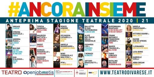 Teatro di Varese, ecco l'anteprima della stagione 2020-21: 30 spettacoli, si parte il 6 ottobre