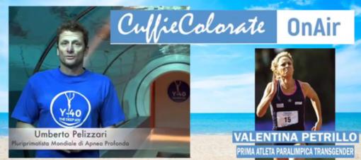 Umberto Pellizzari e Valentina Petrillo ospiti, ieri, delle Cuffie colorate