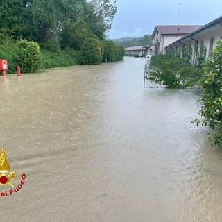 Maltempo. Evacuate 75 persone da un hotel di Varese